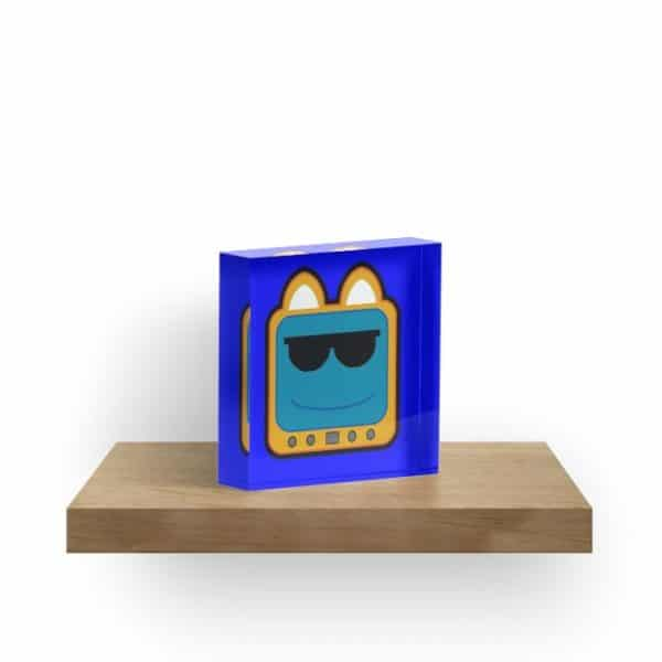 T.v Kitty Cool Glasses 1 Acrylic Block 5d2ede4a136de.jpeg