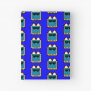 T.v Kitty Cool Glasses 1 Hardcover Journal 5d2edb6b55292.jpeg
