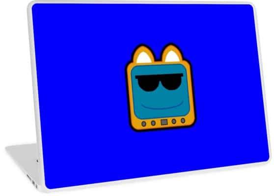 T.v Kitty Cool Glasses 1 Laptop Skin 5d2edcdd76001.jpeg