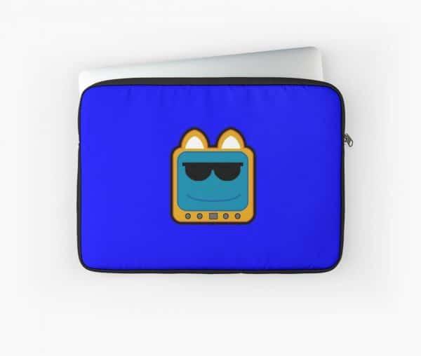 T.v Kitty Cool Glasses 1 Laptop Sleeve 5d2edd0163d9c.jpeg