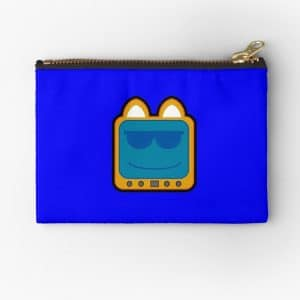 T.v Kitty Cool Glasses 2 Zipper Pouch 5d30aced94463.jpeg