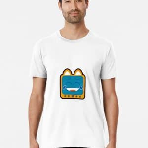 T.v Kitty Laughing Premium T Shirt 5d311e4fe65fc.jpeg