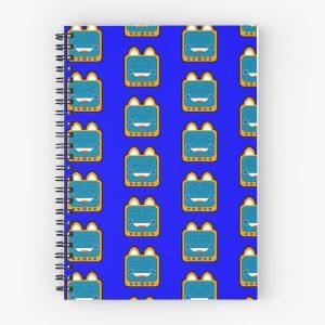 T.v Kitty Laughing Spiral Notebook 5d311d55234b1.jpeg