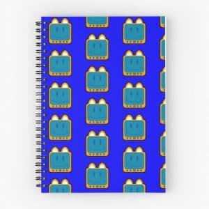 T.v Kitty Smiling Spiral Notebook 5d2c3982494d9.jpeg