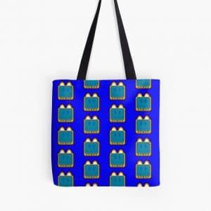 T.v Kitty Smiling Tote Bag 5d2cd5e68c961.jpeg